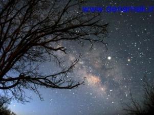 بهترین مکان رصد ستارگان در ده نمک